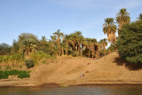 East Bank of the Nile at the Old Dongola Ferry
