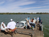 Crossing the Nile on the Old Dongola Ferry
