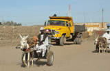 Kerma transport - Donkey cart