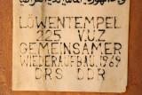 Löwentempel 225 V.U.Z Gemeinsamer Wiederaufbau 1969 DRS DDR