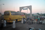 Departing Port Sudan for the bus ride to Kassala - around 600 km