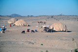 Heading south from Haiya, we pass nomad camps similar to those I saw in Mali
