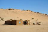 Ridge of marble in the Bayuda Desert