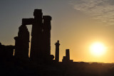 Sunset, Temple of Soleb