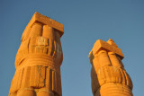 Ancient Egyptian Lotus Column