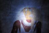 Tomb of Qalhata with its well-preserved tomb paintings, El Kuru