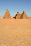 Pyramids of the Royal Cemetery, Karima