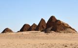 The third Royal Cemetery near Karima, Nuri, on the West Bank of the Nile Nile 8 km