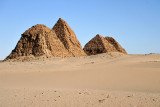 Like just about everywhere we visited in Sudan, here at Nuri we were on our own