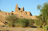 Ruins of a watch tower between El Kurru and the Merowe Bridge