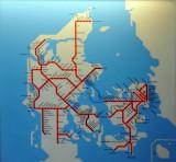 Danish Railway Network