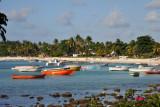 Boats and beach, Grand Baie