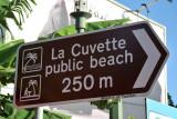 La Cuvette public beach, Grand Baie