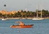 Mauritius Coast Guard boat, Grand Baie