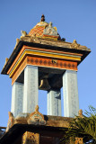 Bell tower of the Tamil temple, Grand Bay