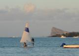 Small sailboat, Grand Baie
