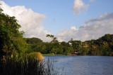 Lake between La Plantation and the Maritim Hotels