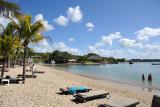 Balaclava Beach at La Plantation on the west coast of Mauritius