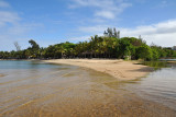 Creek separating La Plantation from the Maritim Hotel, Mauritius