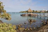 Pier at the Maritim Hotel, Mauritius-Balaclava
