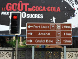From the Balaclava junction, it's 7.5 km to Port Louis and 12 km to Grand Baie