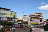 Near the Port Louis north bus station