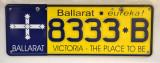Victoria License Plate - Ballarat Eureka!