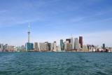 Toronto Skyline from an island ferry