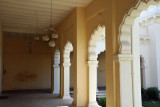 Covered walkway around the Northern Courtyard, Chowmahalla Palace
