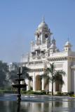 Western clock tower and fountain, Chowmahallah Palace