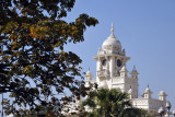 Clock tower of the Western Gate, Chowmahalla Palace