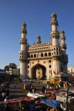 The Charminar, Hyderabad's most recognizable monument