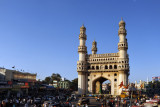 Charminar, the Mosque of the Four Minarets, 1591