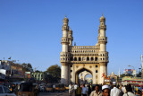 The Charminar is 48.7m (160ft) tall
