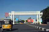 Entering Secunderabad on Tankbund Road
