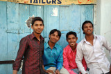 Friendly Hyderabadis in Old Town