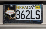 Nevada License Plate - Las Vegas