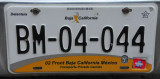 Mexican License Plate - Baja California