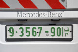 9-series Palestinian plates are registered to the southern West Bank, (Bethlehem, Hebron)