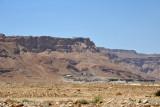 First glimpse of Masada