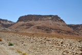 Masada was the site of a siege of Jewish zealots by the Romans in 72-73 A.D.