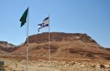 Masada - last Jewish bastion during the Great Revolt (66 AD-72 AD) commanded by Elazar ben Ya'ir, leader of the Sicarii Zealots