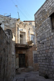 Back alleys between the Christian and Armenian Quarters