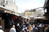 The Souq of the Old City - Damascus Gate Road