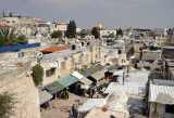 The souq of the Old City from Damascus Gate