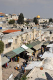 View of the Old City from Damascus Gate
