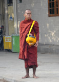 Burmese monk, Mandalay
