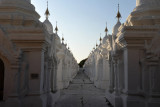 The World's Biggest Book are 729 carved marble slabs housed in these stupas at Kuthodaw Paya