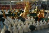 Model of Kuthodaw Paya, Mandalay
