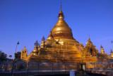 The zedi of Kuthodaw Paya was built 1860-1862